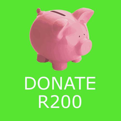 Donate R200