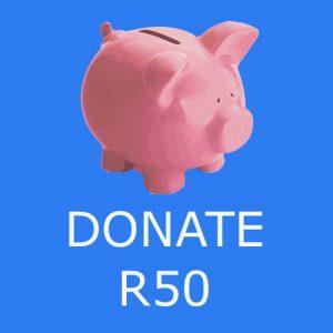 Donate R50