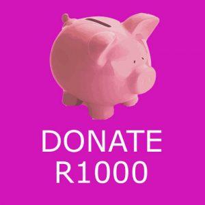 Donate R1000